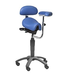 Saddle Dental Stool