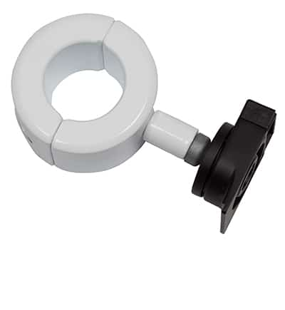 Donut pole clamp 50mm internal diameter